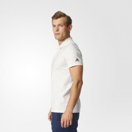 ADIDAS Polo Essentials Base - Homme - Blanc