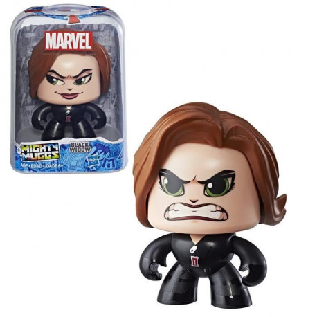 MIGHTY MUGGS MARVEL - BLACK WIDOW - Figurine 15cm