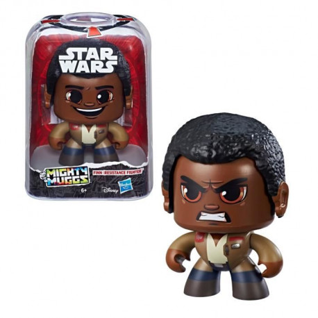 MIGHTY MUGGS STAR WARS - FINN (RESISTANCE FIGHTER) - Figurine 15cm