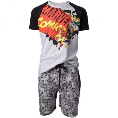 Ensemble Pyjamas Homme Marvel: Marvel Comics
