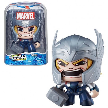MIGHTY MUGGS MARVEL - THOR - Figurine 15cm