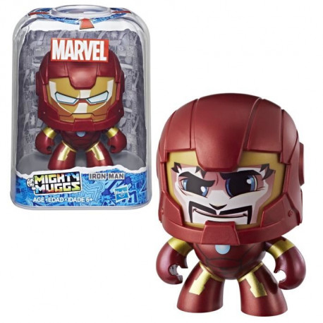 MIGHTY MUGGS MARVEL - IRON MAN - Figurine 15cm