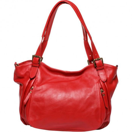 MAIA PARIS - MARIA Sac a main rouge