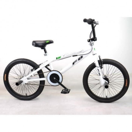 "MERCIER Vélo BMX Freestyle 20"" 4 Pegs - Blanc"