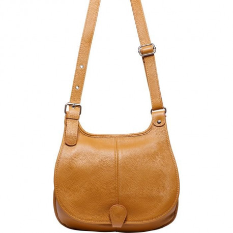 MAIA PARIS - OSLA Sac a main cognac