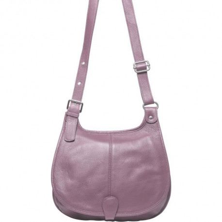 MAIA PARIS - OSLA Sac a main rose poudré