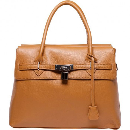 MAIA PARIS - ROMY Sac a main cognac