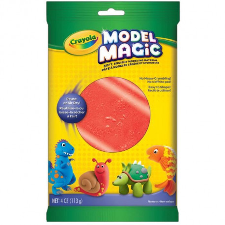 CRAYOLA Sachet Individuel 113gr Model Magic - Rouge