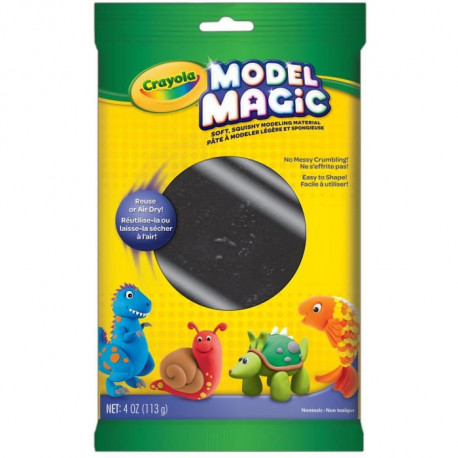 CRAYOLA Sachet Individuel 113gr Model Magic - Noir
