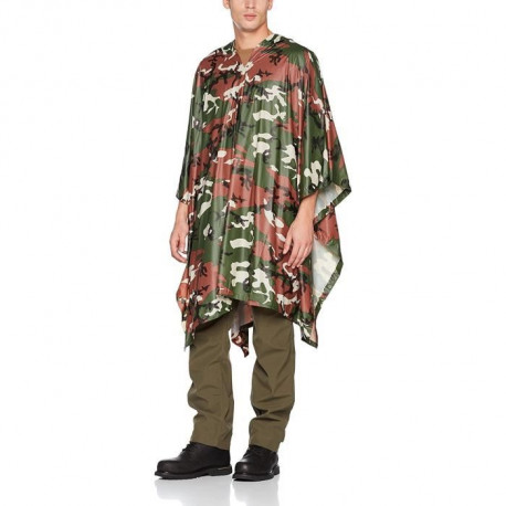 HIGHLANDER Poncho Multi-Fonctions Camouflage