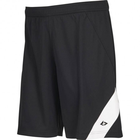 ATHLI-TECH Short de football Dyfoot - Homme - Noir