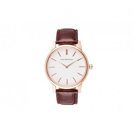 JEAN BELLECOUR Montre Quartz REDG1 Mixte