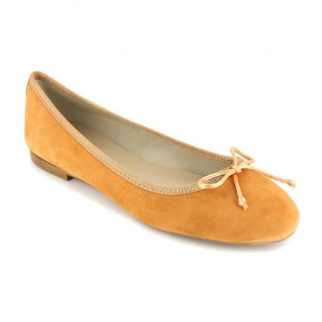 PIERRE CARDIN Ballerines en cuir - Femme - Orange