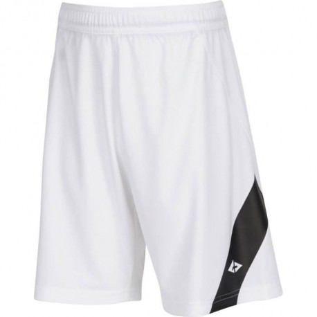 ATHLI-TECH Short de football Dyfoot - Enfant garçon - Blanc