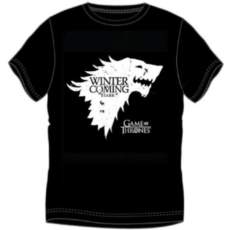 T-shirt Game Of Thrones - Winter is Coming