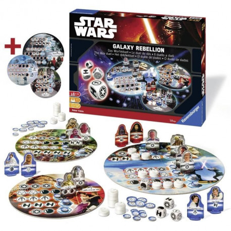 STAR WARS Jeux de Société Galaxy Rebellion - Disney