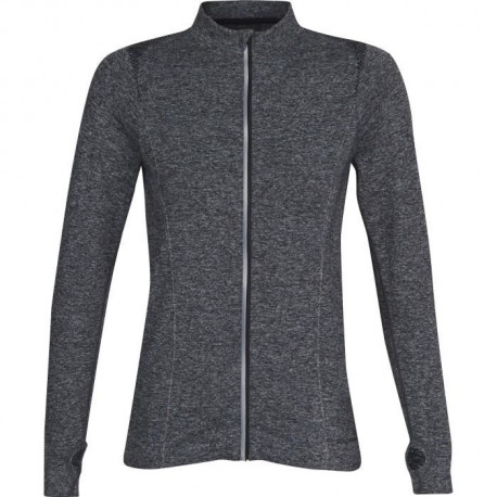 ATHLI-TECH Sweatshirt de running Eden Seam - Femme - Gris anthracite chiné
