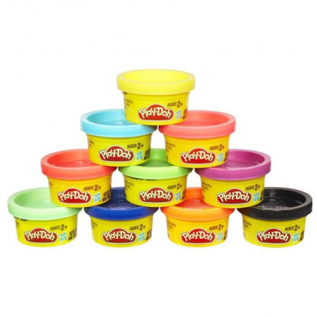 PLAY-DOH - Couleurs Party Tube