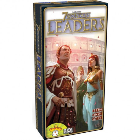 ASMODEE - 7 Wonders - Extension Leaders - Jeu de société