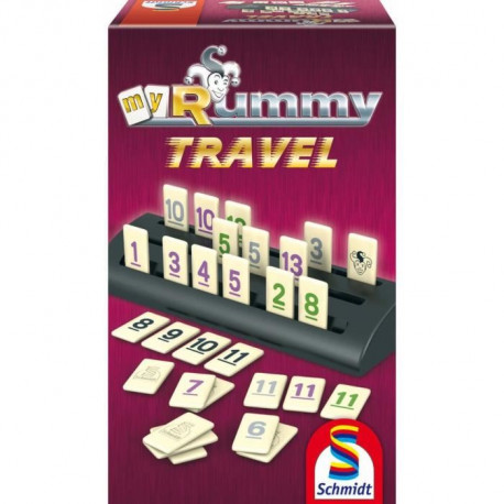 SCHMIDT AND SPIELE Jeu de société - MyRummy Travel