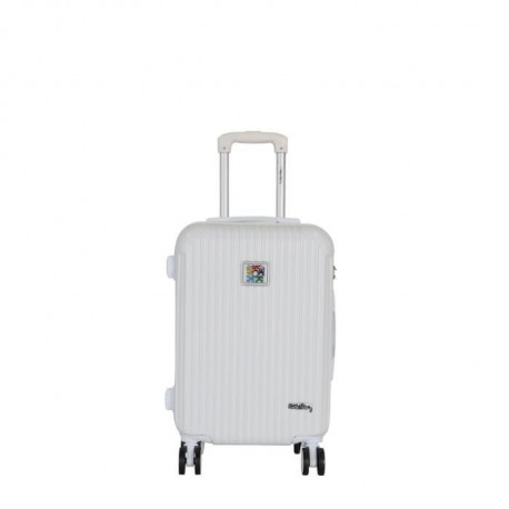 KEITH HARING Valise cabine de week-end - 50 cm - Blanc