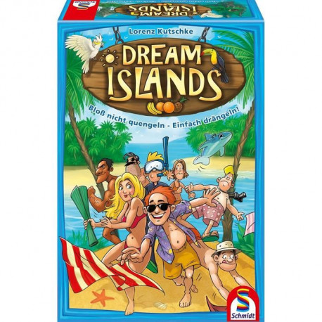 SCHMIDT AND SPIELE Jeu de société - Dream Islands