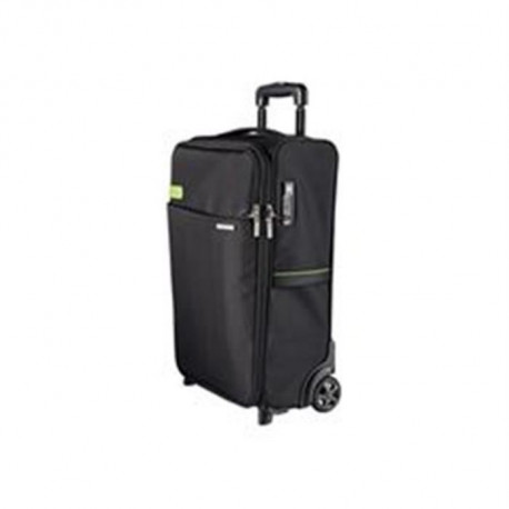 LEITZ Smart Traveller Trolley - Bagage cabine - 2 roues - Noir