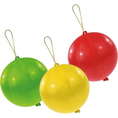 Lot de 3 Punchballs - Coloris assortis