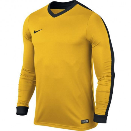 NIKE Maillot Manches longues Striker IV - Or Université