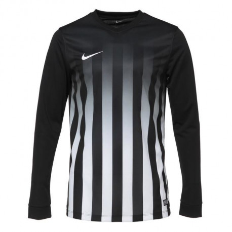 NIKE Maillot Manches longues Striped Division II - Noir