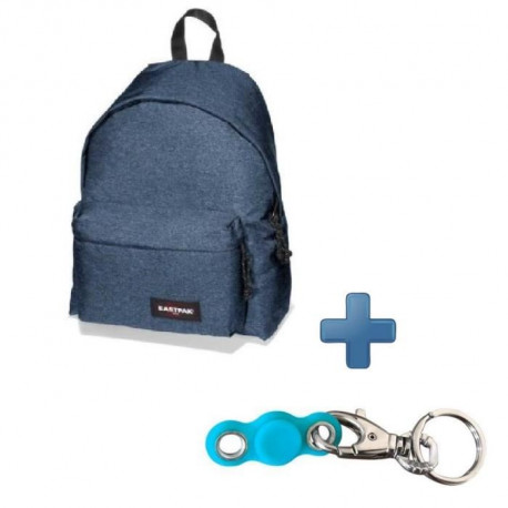Pack EASTPAK EK62082D Bleu Denim + My pocket Spinner