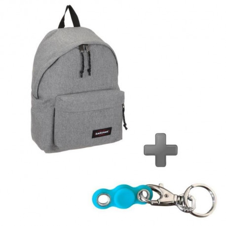 Pack EASTPAK EK620363 Gris + My pocket Spinner