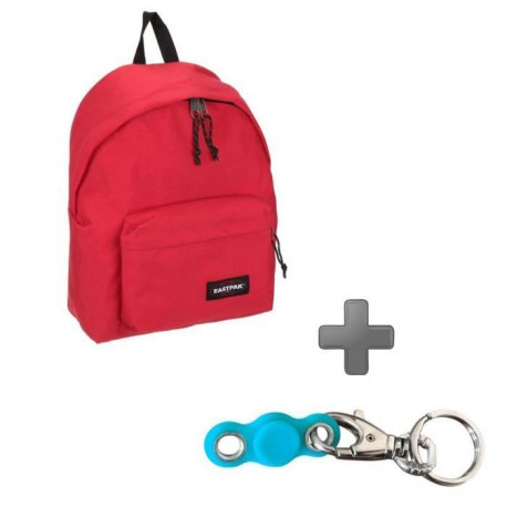 Pack EASTPAK EK62053B Rouge + My pocket Spinner