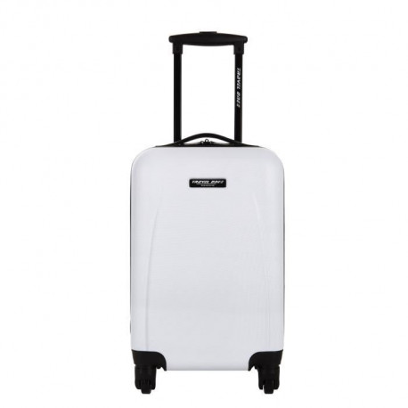 TRAVEL ONE Valise Cabine Low Cost Rigide 4 Roues Blanc Again