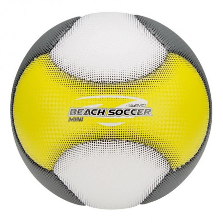 AVENTO Mini-ballon de beach football Soft - Jaune