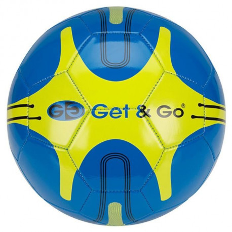 GET & GO Ballon de football - Bleu