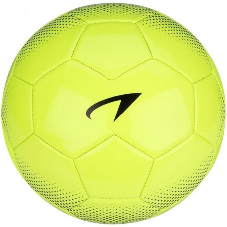 AVENTO Ballon de football PVC - Jaune