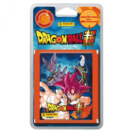 DRAGON BALL SUPER Blister 7 Pochettes