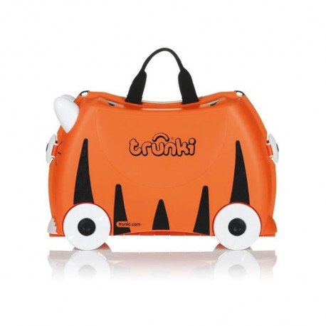 TRUNKI  Ride-on - Valise a roulettes pour enfants - Tigre Tipu