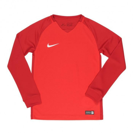 NIKE Maillot Manches longues Trophy III - Enfant - Rouge