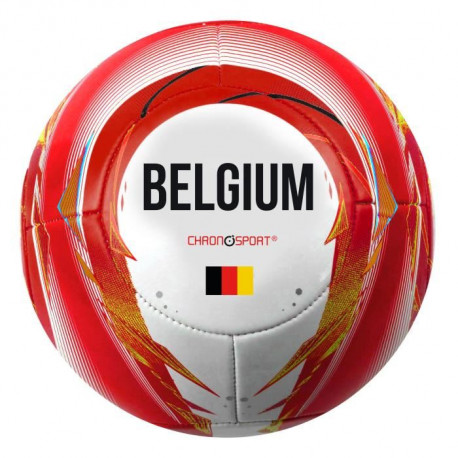 CHRONOSPORT Ballon de football Belgique - Taille 5