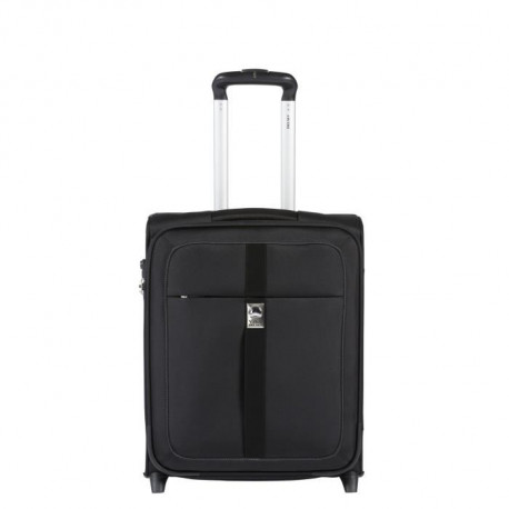 VISA DELSEY Valise cabine trolley New Soleo a 2 roues - 50 x 40 x 20 cm - Noir