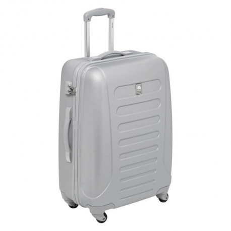 SELECTION DELSEY Valise Rigide ABS 4 Roues 72cm NEW ARROW Argent