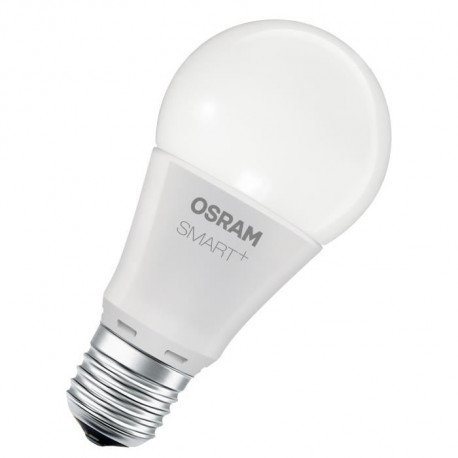OSRAM SMART+ Ampoule connectée LED E27 10 W équivalent a 60 W dimmable du blanc chaud au blanc froid