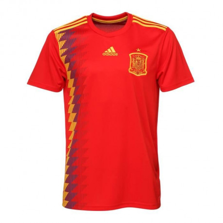 ADIDAS Maillot de Football Jersey FEF Espagne - Homme - Rouge