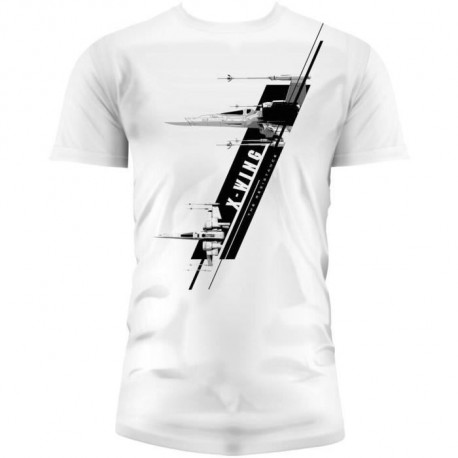 STAR WARS T-shirt X-Wing EP7 Homme