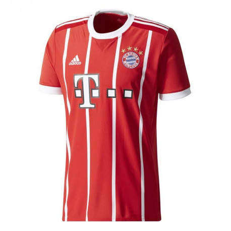 ADIDAS Maillot de football Bayern Domicile 17 - Homme - Rouge