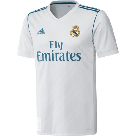 ADIDAS Maillot de football Real Domicile 17 - Homme - Blanc
