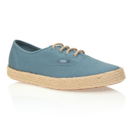 VANS Chaussures Authentic Espadril Canvas Aegean - Femme - Bleu gris