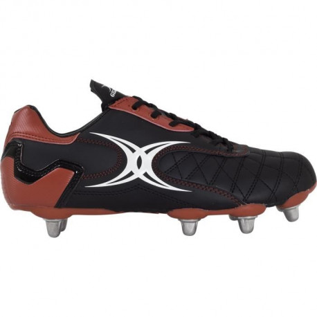 GILBERT Crampons Rugby Sidestep Revolution 8s RGB